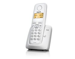 GIGASET A120 DECT TELEFON BEYAZ - Thumbnail