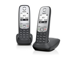 GIGASET A415 DUO DECT TELEFON - Thumbnail