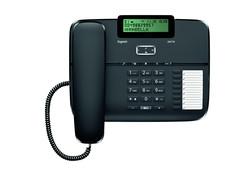 GIGASET DA710 KABLOLU TELEFON SİYAH - Thumbnail