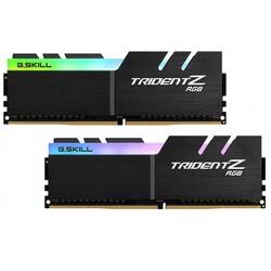 GSKILL - GSKILL 16GB (2X 8GB) DDR4 4000MHZ CL18 DUAL KIT RGB PC RAM TRIDENT Z RGB F4-4000C18D-16GTZRB