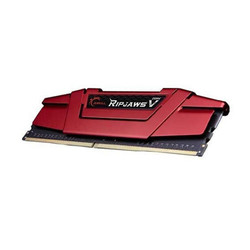 GSKILL - GSKILL RipjawsV Kırmızı 8GB (1x8GB) 3000Mhz DDR4 CL16 Pc Ram F4-3000C16S-8GVRB