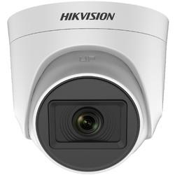HAIKON - HIKVISION - HAIKON (DS-2CE76H0T-ITPFS) 5MP 2.8MM 1080P HD-TVI MINI IR ULTRA LOW 4IN1 DOME SESLİ KAMERA-20MT.