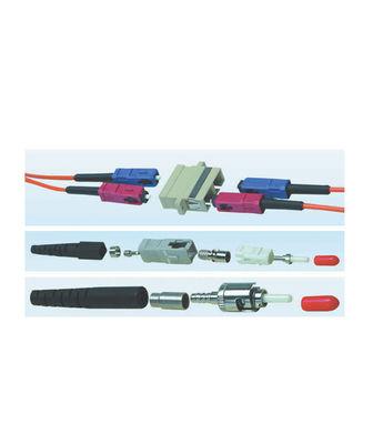 HCS LC Duplex Plastik Adaptor Bej MM ( VFO-27201 )