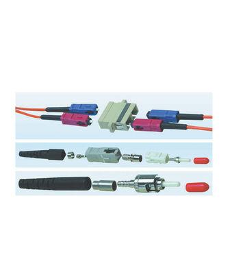 HCS LC Duplex Plastik Adaptor Mavi SM ( VFO-27202 )