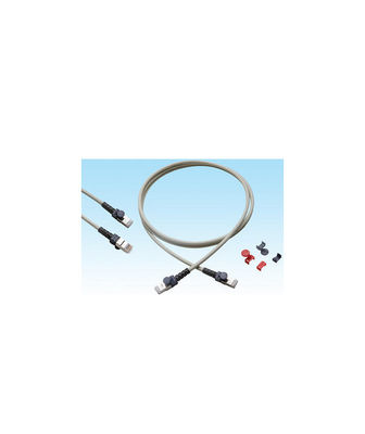HCS S/FTP Cat6A Patch Cord LSOH 5m Gri ( T6A-00480-501 )