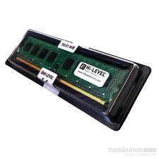 HI-LEVEL - HI-LEVEL 4GB 1333Mhz DDR3 (16 Chip) Pc Ram HLV-PC10600D3-4G Kutulu