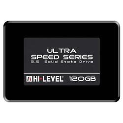 HI-LEVEL Ultra 2.5 120GB SSD SATA3 550/530 HLV-SSD30ULT-120G - Thumbnail