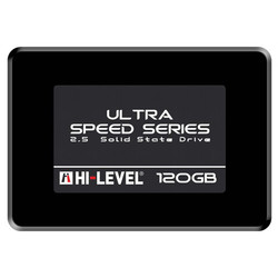 HI-LEVEL Ultra 2.5 120GB SSD SATA3 550/530 HLV-SSD30ULT-120G - Thumbnail