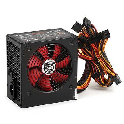 High Power 500W 80+ Bronze Kırmızı Fan Güç Kaynağı
