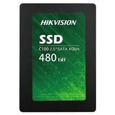 HIKVISION C100 Serisi 2.5 480GB Ssd Disk SATA3 550/470 7mm