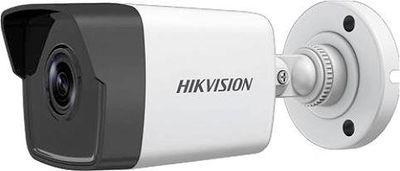 HIKVISION DS-2CD1023G0E-IF 1/2.8 PS CMOS 2 MP (1080P) 4 mm POE Sessiz Bullet IP Güvenlik Kamera