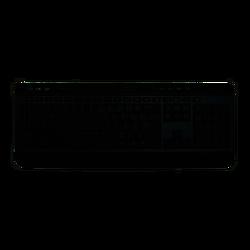 HIPER - HIPER F-3900 Kablolu,F,TR,USB,Multimedya Slim Klavye,Siyah