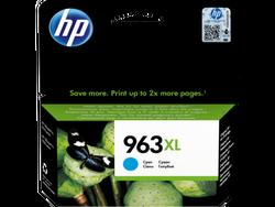 HP - HP 3JA27AE (963XL) YUKSEK KAPASITE CYAN MUREKKEP KARTUS