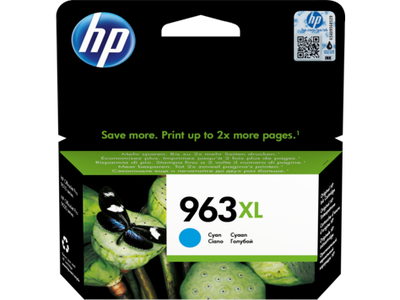 HP 3JA27AE (963XL) YUKSEK KAPASITE CYAN MUREKKEP KARTUS