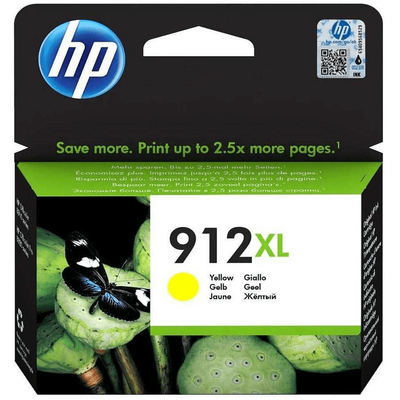 HP 3YL83AE (912XL) YUKSEK KAPASITI SARI MUREKKEP KARTUS
