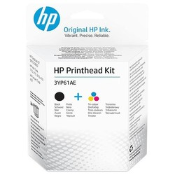 HP - HP 3YP61AE TRI COLOR/BLACK GT PRİNTHEAD KIT