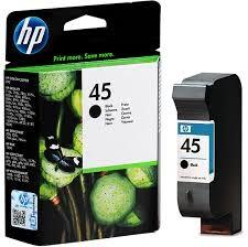 HP - HP 51645A (45) Siyah Mürekkep Kartuş