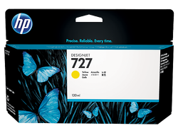 HP B3P21A (727) SARI 130 ML GENIS FORMAT MUREKKEP KARTUSU - Thumbnail