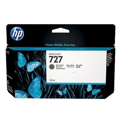 HP B3P22A (727) MAT SIYAH 130 ML GENIS FORMAT MUREKKEP KARTUSU