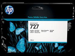HP - HP B3P23A (727) FOTOGRAF SIYAHI 130 ML GENIS FORMAT MUREKKEP KARTUSU