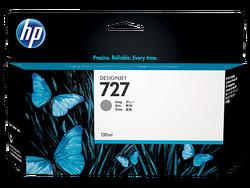 HP - HP B3P24A (727) GRI 130 ML GENIS FORMAT MUREKKEP KARTUSU