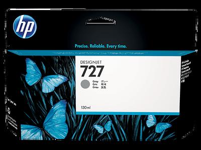 HP B3P24A (727) GRI 130 ML GENIS FORMAT MUREKKEP KARTUSU