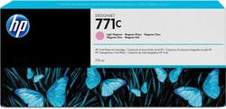 HP - HP B6Y11A No 771 Açık Kırmızı Kartuş 775Ml