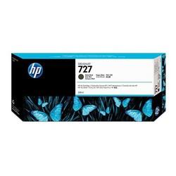 HP - HP C1Q12A (727) MAT SIYAH 300 ML GENIS FORMAT MUREKKEP KARTUSU