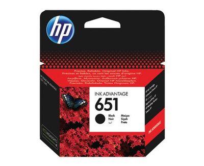 HP C2P10AE Siyah Mürekkep Kartuş (651)