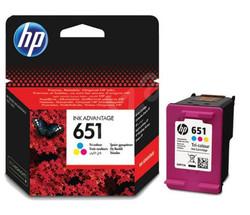 HP - HP C2P11AE (651) UC RENKLI MUREKKEP KARTUSU 300 SAYFA