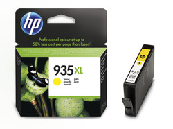 HP - HP C2P26AE (935XL) SARI YUKSEK KAPASITELI MUREKKEP KARTUSU 825 SAYFA