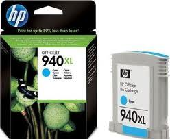 HP - HP C4907AE (940XL) CAMGOBEGI YUKSEK KAPASITELI MUREKKEP KARTUSU 1.400 SAYFA