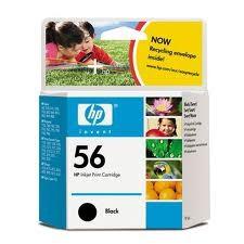 HP - HP C6656AE (56) SIYAH MUREKKEP KARTUSU 520 SAYFA