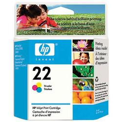 HP - HP C9352AE (22) UC RENKLI MUREKKEP KARTUSU 165 SAYFA
