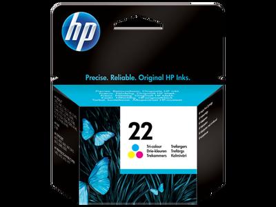 HP C9352AE (22) UC RENKLI MUREKKEP KARTUSU 165 SAYFA