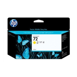 HP - HP C9373A No 72 Sarı Kartuş 130 Ml