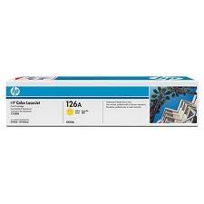 HP - HP CE312A (126A) SARI TONER 1.000 SAYFA