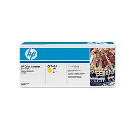 HP - HP CE742A (307A) SARI TONER 7.300 SAYFA