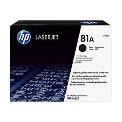 HP - HP CF281A (81A) SIYAH TONER 10.000 SAYFA