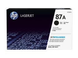 HP - HP CF287A (87A) SIYAH TONER 9.000 SAYFA