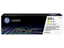 HP - HP CF402X (201X) SARI YUKSEK KAPASITELI TONER 2.300 SAYFA