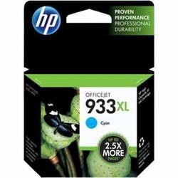 HP - HP CN054AE Mavi Mürekkep Kartuş (933XL)
