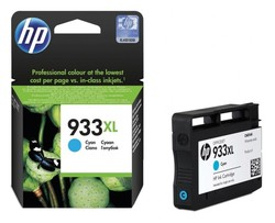 HP CN054AE Mavi Mürekkep Kartuş (933XL) - Thumbnail