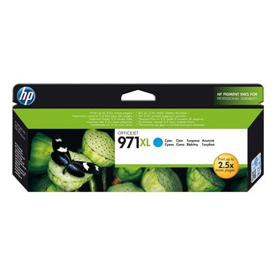 HP CN626AE 971XL 6.600 Sayfa Mavi Yüksek Kap. Mürekkep Kartuş