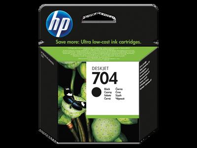 HP CN692AE Siyah Mürekkep Kartuş (704)