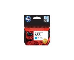 HP - HP CZ110AE Mavi Mürekkep Kartuş (655)