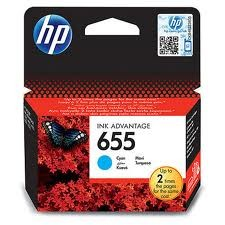 HP CZ110AE Mavi Mürekkep Kartuş (655) - Thumbnail