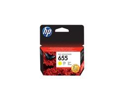 HP CZ112AE Sarı Mürekkep Kartuş (655) - Thumbnail