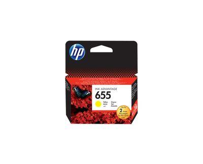HP CZ112AE Sarı Mürekkep Kartuş (655)