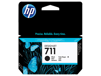HP CZ129A (711) SIYAH 38 ML GENIS FORMAT MUREKKEP KARTUSU